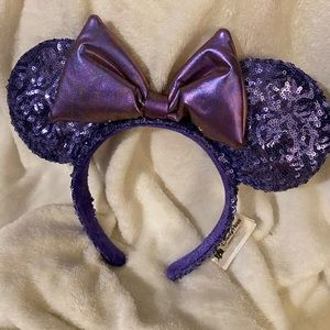 Purple potion Minnie Mouse ears Brand New